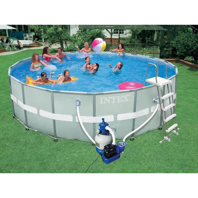 Intex piscine tubulaire ultra frame 5 49 x 1 32 m pas cher achat vente piscine tubulaire - Piscine tubulaire intex pas cher ...