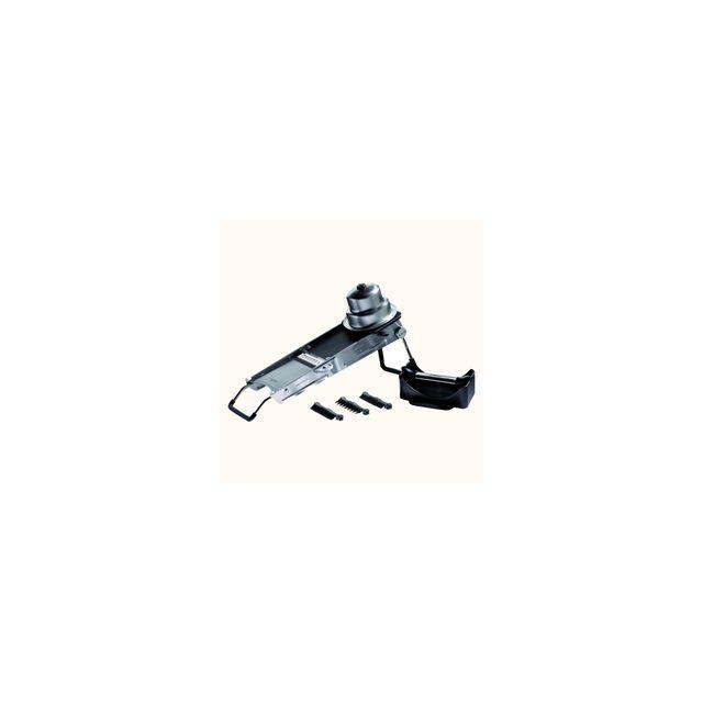 De Buyer Mandoline Ultra De Luxe 2.0 Avec 2 Poussoirs