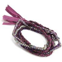 Nakamol - Promo Bracelet Cbx3554-LTMTMC-GUN - Bracelet Cuir Rose Femme