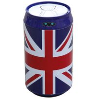 KITCHEN MOVE - bat-30lkukf - poubelle automatique 30l inox canette uk flag