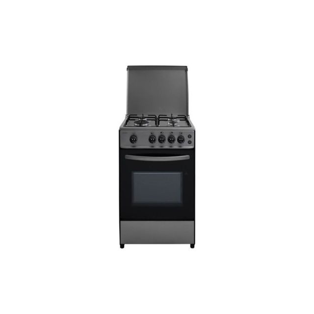 Oceanic Etf156gscf Lu2x - Cuisiniere Gaz - Inox - 50x50 - Eclairage - Grill Electrique