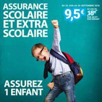 CARREFOUR - Assurance scolaire et extra-scolaire 1 enfant