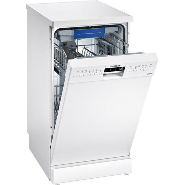SIEMENS lave-vaisselle 45cm 9 couverts a+ pose-libre blanc - sr236w01me