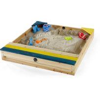 Plum - Bac à sable en bois avec coffre de rangement intégré