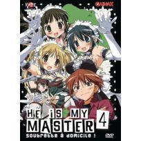 Kaze - He Is My Master : Soubrette À Domicile ! 4 - Dvd - Edition simple