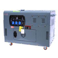 Varanmotors - Générateur / Groupe électrogène Diesel insonorisé 12kW 230V + 12V