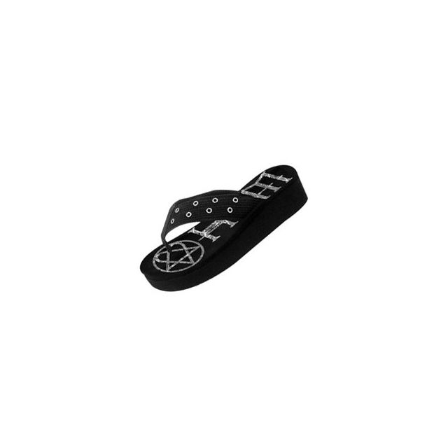 Chaussures Cher Achat Fil Pas Vente Logo Small Bioworld Tong Yb7fy6gv