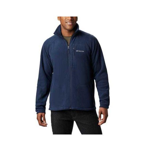 Columbia Polaire Fast Trek Ii Full Zip bleu marine logo