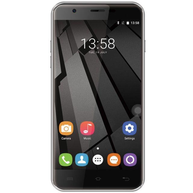 Auto-hightech Smartphone quad core 5.5 pouces 4G android 7.0 avec empreinte digital