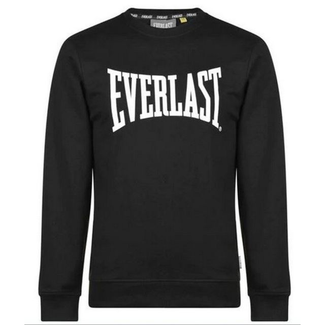 EVERLAST Sweat Logo Noir Homme