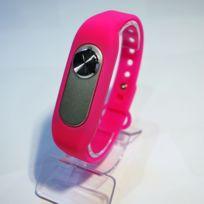 Shopinnov - Bracelet Micro espion Enregistreur 8Go Rose 20H d'enregistrement continu