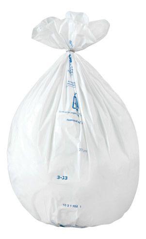 jet 39 sac sac poubelle 30 litres nf blanc paquet de 500 pas cher achat vente sacs. Black Bedroom Furniture Sets. Home Design Ideas
