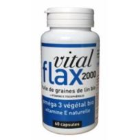 Lt Laboratoires - Vital Flax 2000 Oméga 3 végétal ,60 capsules, Lt Labo