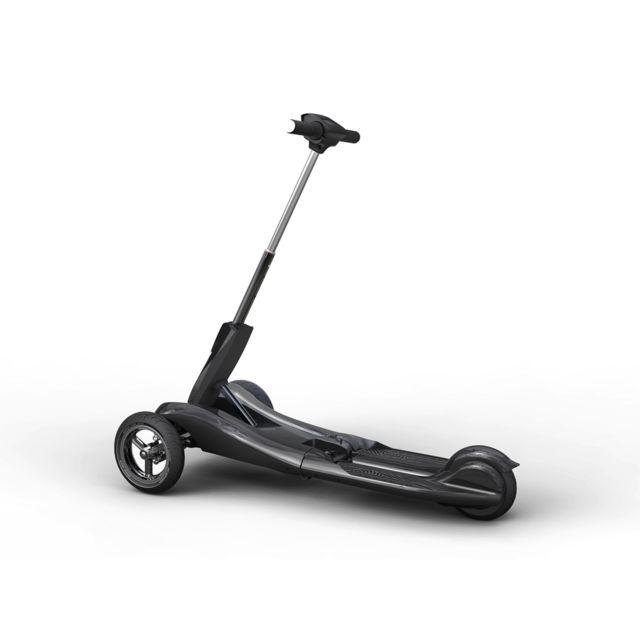 iboard trottinette lectrique pliable 3 roues noir pas cher achat vente trottinette. Black Bedroom Furniture Sets. Home Design Ideas