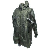 Camp - Poncho cape de pluie Cagoule zip front poncho Vert 69585