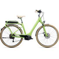 Cube - Vélo Électrique Elly Ride Hybrid 400 Green´n´white 2017 easy Entry 46 Cm