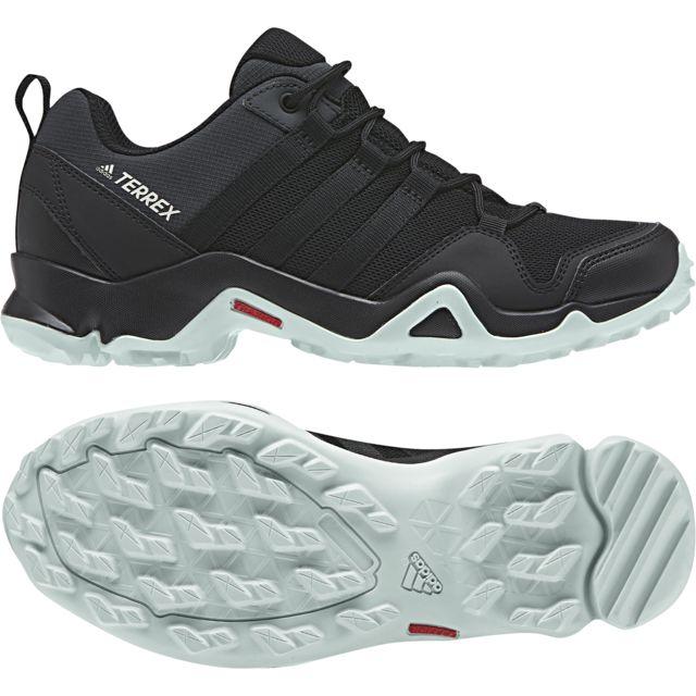 Adidas Chaussures femme Terrex Ax2R noirnoirvert cendre