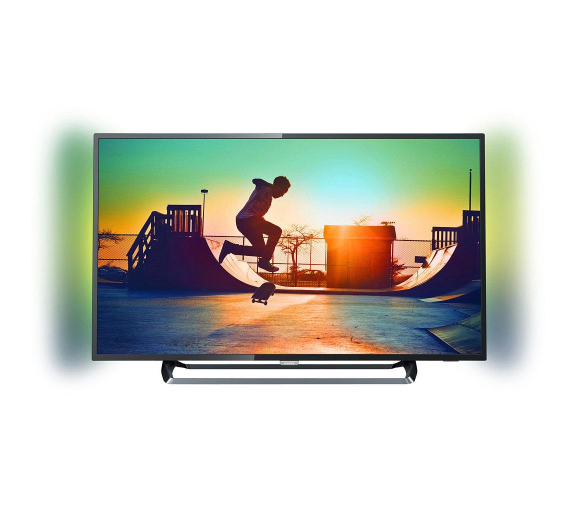 "TV LED 50"" 127 cm, 4K UHD - 3x HDMI - Classe A+ - Smart TV"