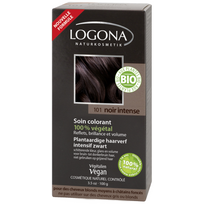 Logona - Soin colorant végétal bio Noir Intense