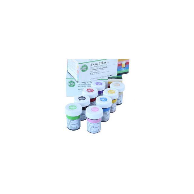 Wilton Colorants gel pour glaçage x8