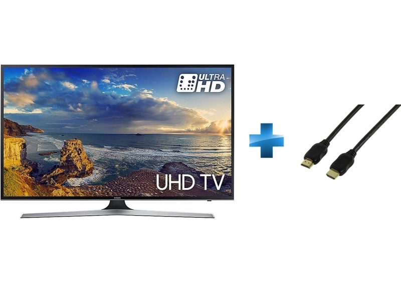 TV Led 40'' - 40MU6192 + Cordon HDMI 1.4 - 1.5 mètres
