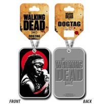 Sans Marque - The Walking Dead pendentif Dog Tag Michonne
