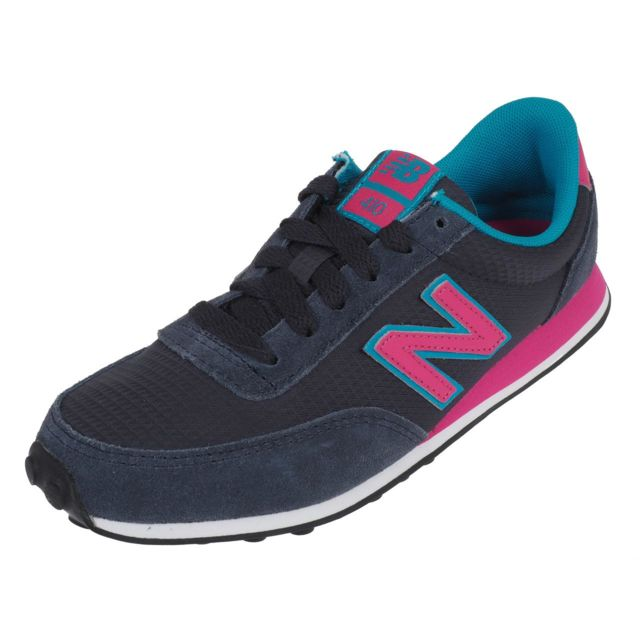 New Balance - Chaussures running mode Wl410 marine rose Bleu 49479 ... eb49879c26e