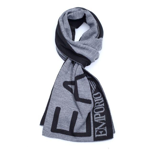 385a0cc326 Armani - Echarpes Ea7 Emporio 275561 - 6a393 01449 Gris - pas cher Achat / Vente  Echarpes, foulards - RueDuCommerce