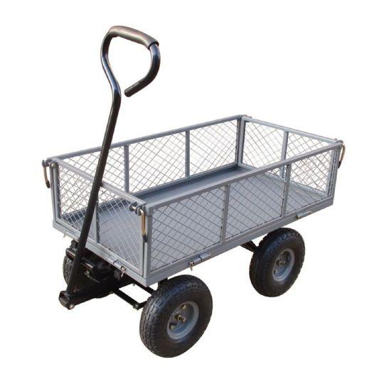 MARQUE GENERIQUE Chariot de jardin multi-usage à bascule - Acier