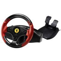 THRUSTMASTER - Volant + pédalier Ferrari Red Legend Racing Wheel PS3/PC