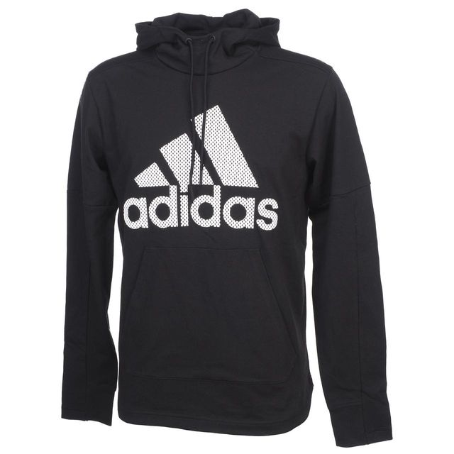 Hooded Xl Cap Black Molleton Adidas Capuche Sweat 57477 Noir AxwqPEzEZ