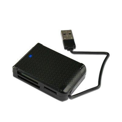 Cabling - Lecteur de carte Ms Pro/DUO/PRO Duo-compact Flash I/II/SDHC/SD/SDXD/MINI Sd/ Mmc/RS Mmc et M2/Micro Sd-t Flash sans adaptateur