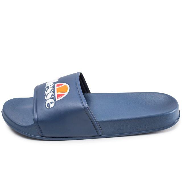 meilleure collection magasin officiel Beau design Ellesse - Sandales Filipo Slide Bleu Marine 43 - pas cher ...