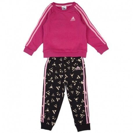 Adidas originals - Survêtement Summer Jog rose Bébé Fille Adidas ... 9e8423ea8ac