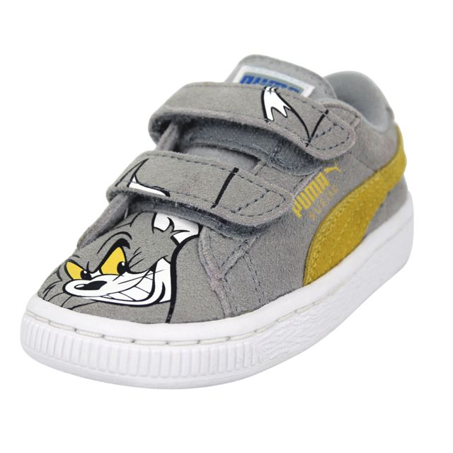 Puma Suede Tom And Jerry Shoes Chaussures Mode Sneakers