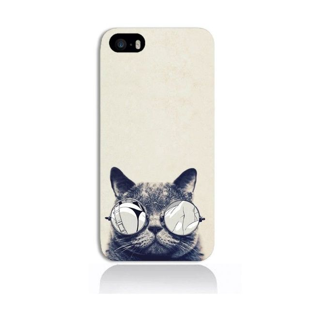 g n rique coque ipod touch 5 6 chat lunette vertical. Black Bedroom Furniture Sets. Home Design Ideas