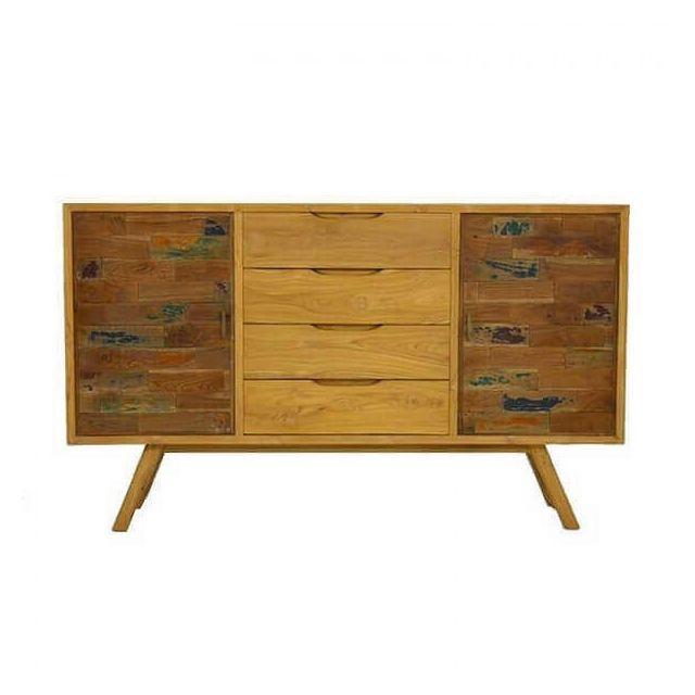 Mathi Design Wood - Enfilade en bois massif