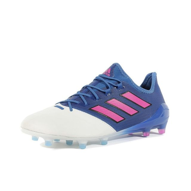 Chaussures Ace 17.1 Leather FG Bleu Football Homme Multicouleur 40 23
