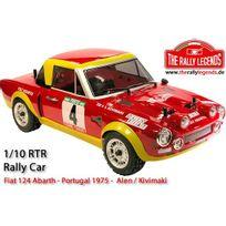 Rally Legends - Fiat 124 Abarth Portugal 1975 1/10e ARTR Kit