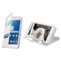 Mecer - Etui Double Fenêtre iPhone 6 - Blanc
