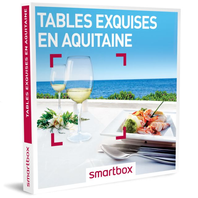 Smartbox Tables Exquises En Aquitaine Pas Cher Achat Vente