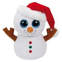 TY - Beanie boo's medium-Scoop le bonhomme de neige