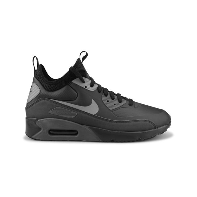 finest selection 13cd7 258ab Nike - Air Max 90 Ultra Mid Winter Noir - pas cher Achat   Vente Baskets  homme - RueDuCommerce