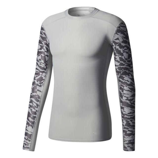 T shirt de compression Techfit Chill Print