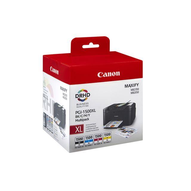 CANON PGI-1500XL - Multipack Cartouche d'encre 4 couleurs