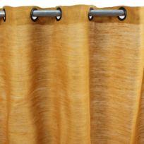 Mon Beau Tapis - Rideau Tribu 150x250cm, Jaune • Jute/coton