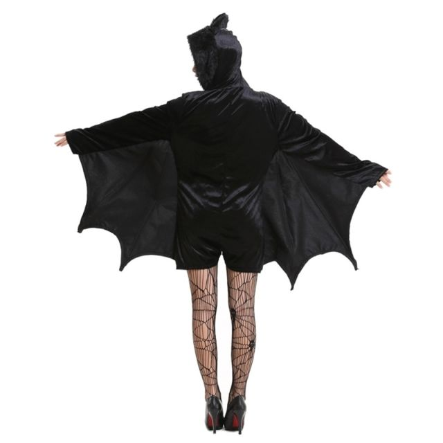 ... Wewoo - Déguisement Costume d Halloween Enfants et femmes Vêtements de  vampire chauve-souris ... 6415f71103a