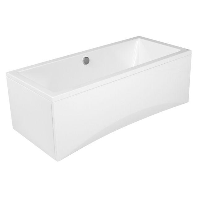 cersanit baignoire rectangulaire 170x75 intro sans tablier pas cher achat vente baignoire. Black Bedroom Furniture Sets. Home Design Ideas