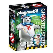 Playmobil - Ghostbusters - 9221-Ghostbusters fantôme Stay Puft et Stantz