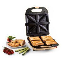 KLARSTEIN - Trinity Sandwich Maker 3-en-1 Xxl 1300 W -crème